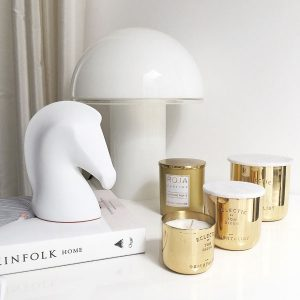 Gold Fever Tom Dixon and Roja Candles Decoration Ideas on Lifetime-Pieces.com