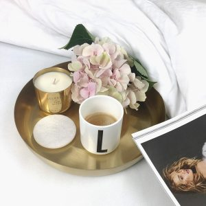 Gold Fever Tom Dixon Candle Bed Tray Flower Decoration Ideas on Lifetime-Pieces.com