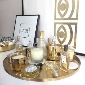 Gold Fever Tray Scents Decoration Ideas on Lifetime-Pieces.com