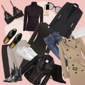collage minimal chic fashion classics on Lifetime-Pieces.com