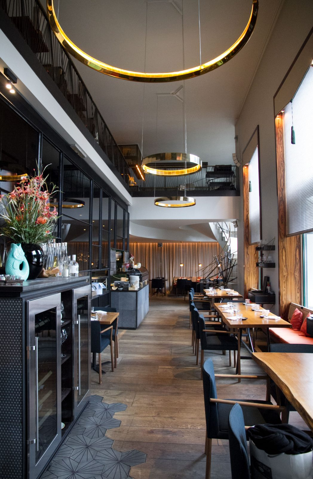 Interior Spots Munich Koi Restaurant on Lifetime-Pieces.com