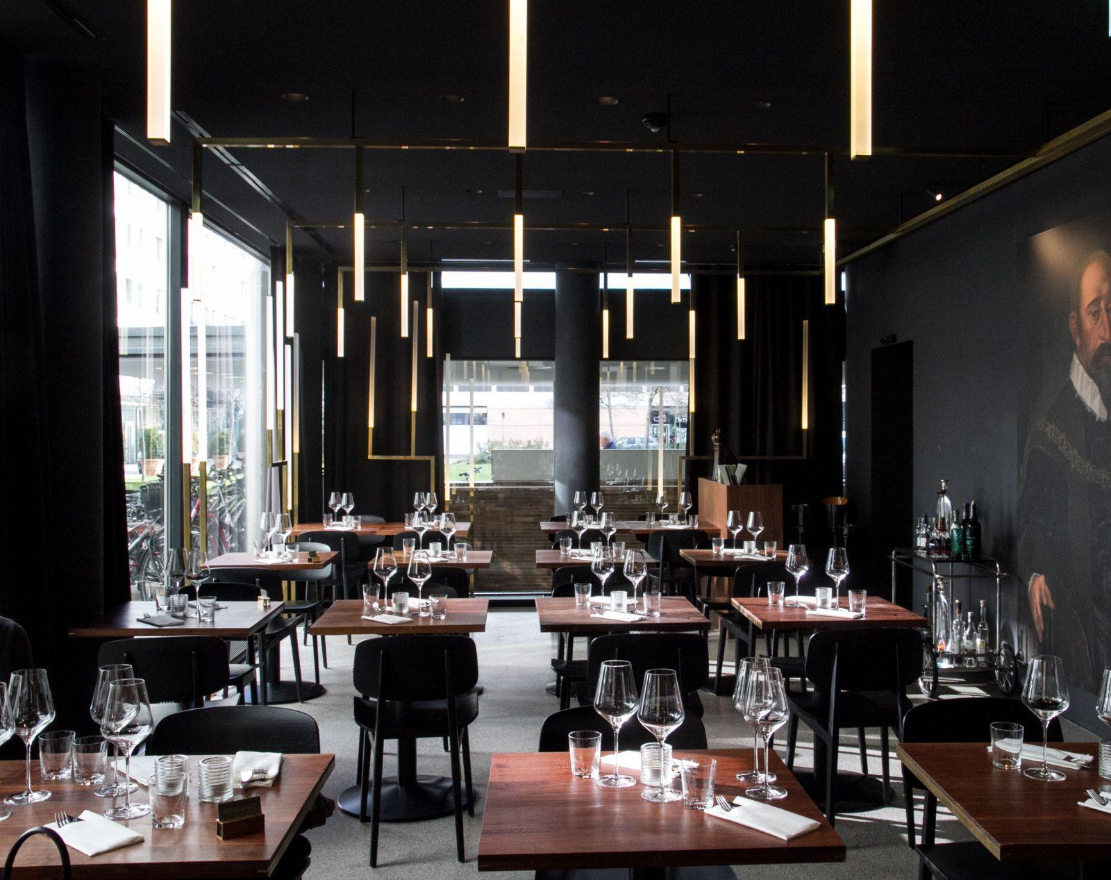 Interior Spots Munich Herzog Restaurant Bar on Lifetime-Pieces.com