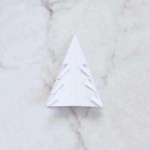 Christmas Paper Tree DIY on Lifetime-Pieces.com