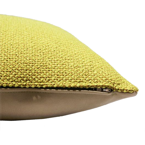 Fat Bo Bushion Hook & Eye 60x60 cm Yellow - Summer Cushions - Fresh up your home - on Lifetime-pieces.com