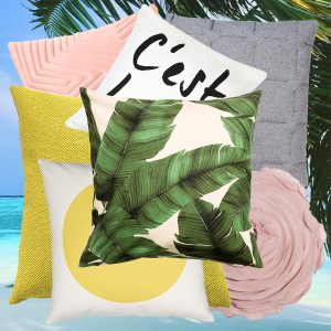 Collage Summer Trend Cushions - Summer Cushions - Fresh up your home - on Lifetime-pieces.com