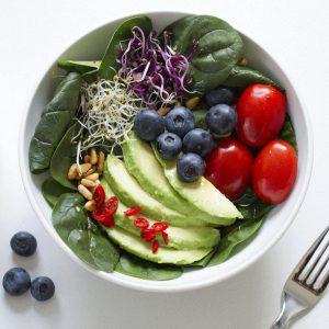 Vegan Avocado Spinach Superfood Salad on Lifetime-Pieces.com