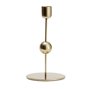 Candle Holder Brass H&M Home