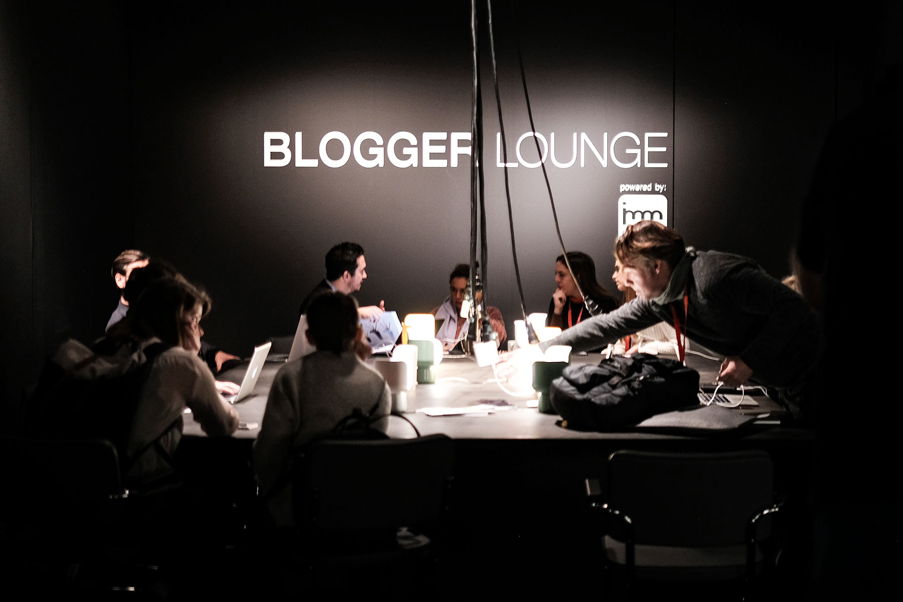 Blogger Lounge at imm cologne trade fair 2018, blog post lifetime-pieces.com
