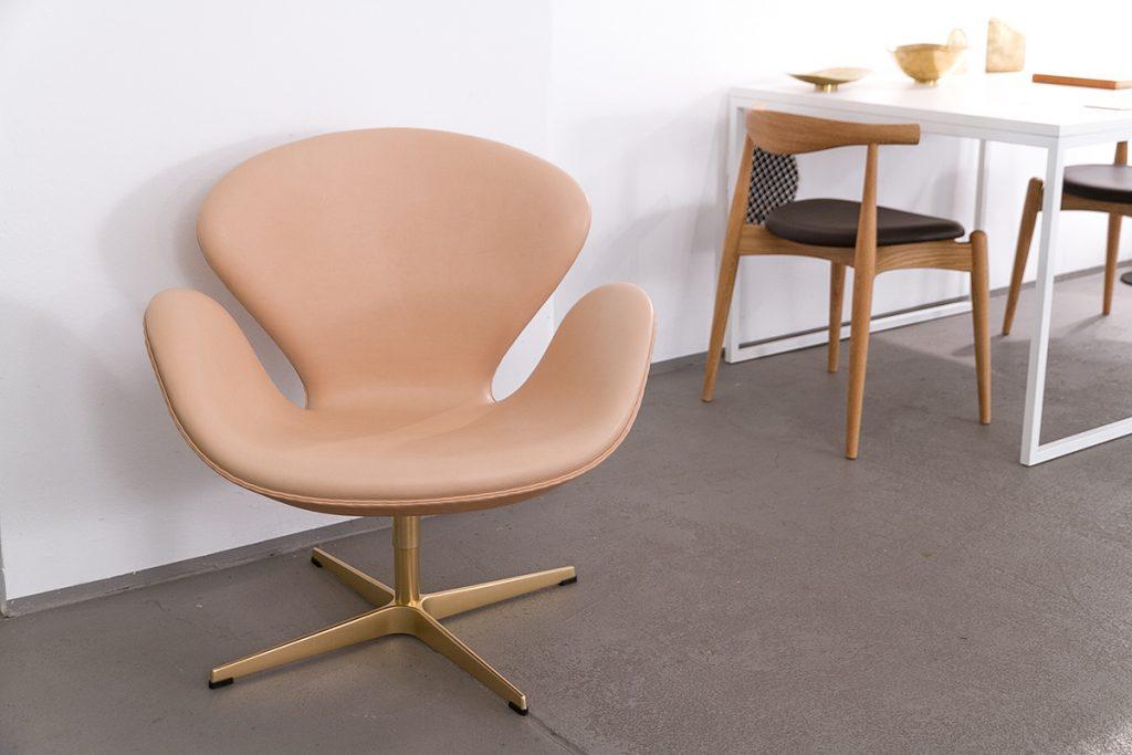 Markanto Designklassiker, Arne Jacobsen, Fritz Hansen Sessel, Der Schwan, Anniversary Edition, Möbel, Design