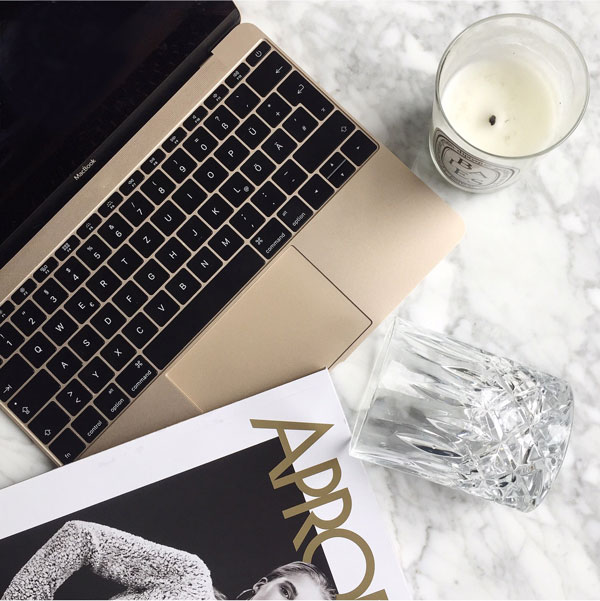 Gold Fever Macbook Decoration Ideas on Lifetime-Pieces.com