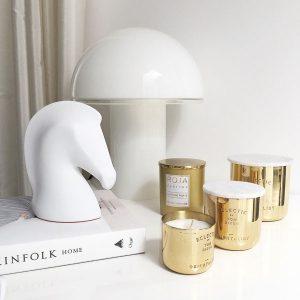 Gold Fever Tom Dixon and Roja Candles Decoration Ideas on Lifetime-Pieces.com