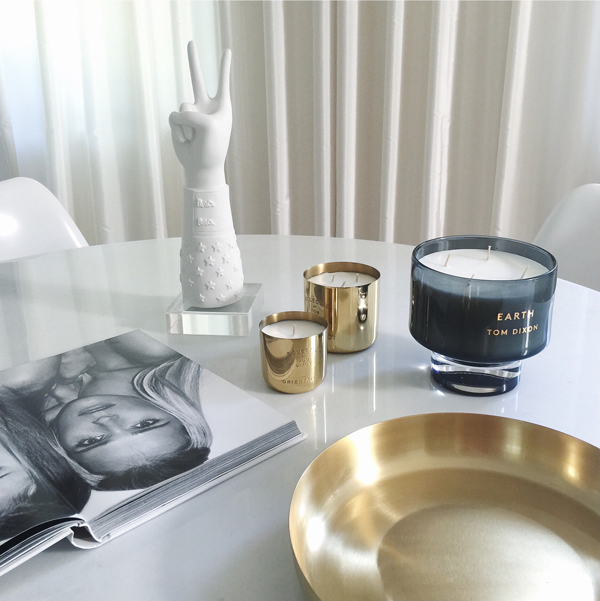 Gold Fever Tom Dixon Candles Decoration Ideas on Lifetime-Pieces.com