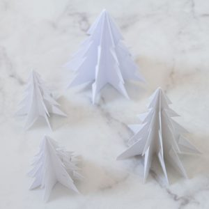 Christmas Paper Tree DIY on Lifetime-Pieces.com