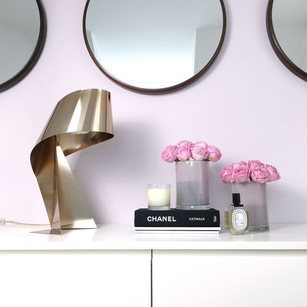 Gold Fever Ribbon Lamp Decoration Ideas on Lifetime-Pieces.com