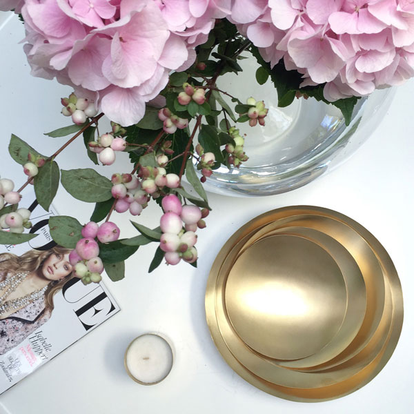 Gold Fever Tom Dixon Bowls Decoration Ideas on Lifetime-Pieces.com