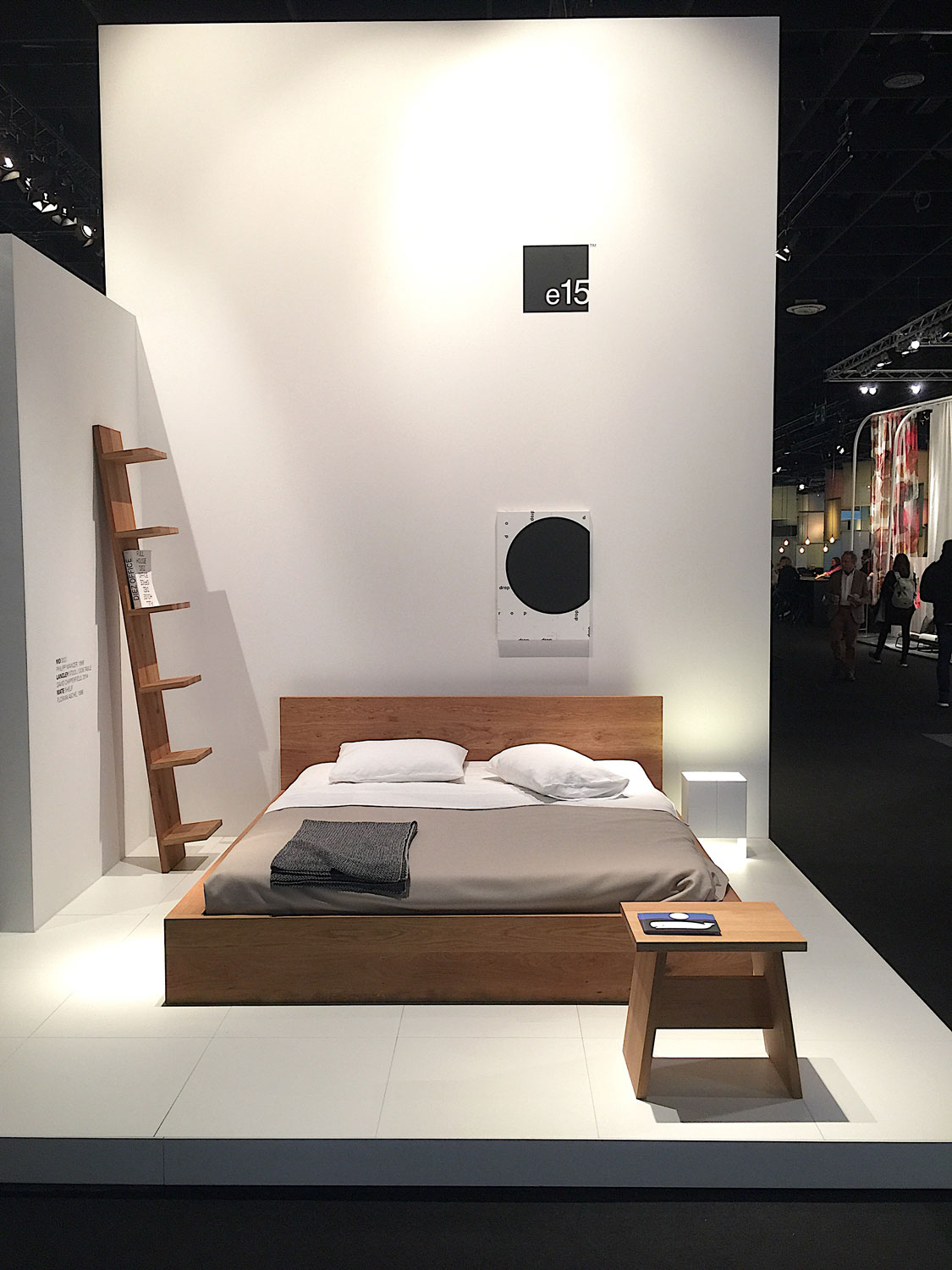 Imm Cologne 2017 trade fair interior trends e15 wood bed