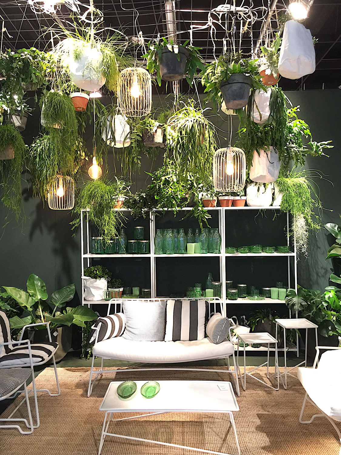Imm Cologne 2017 trade fair interior trends plants