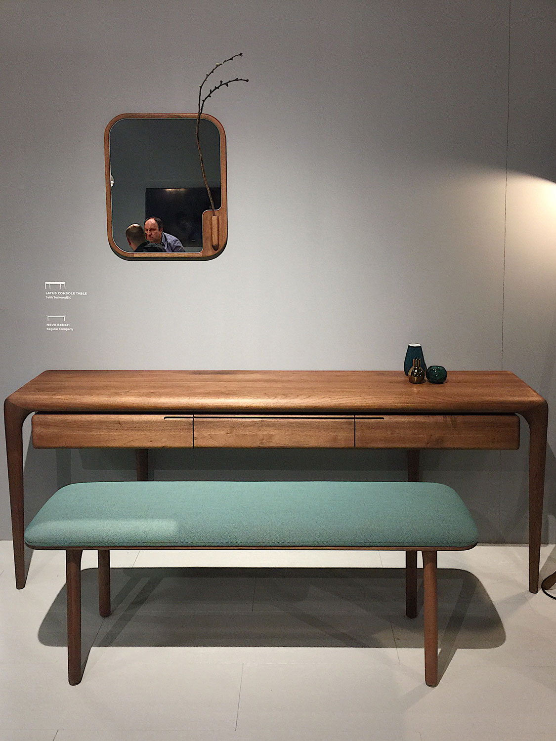 Imm Cologne 2017 trade fair interior trends wood