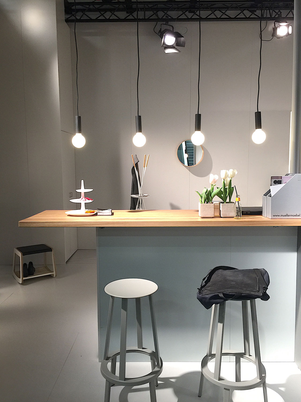 Imm Cologne 2017 trade fair interior trends pendant lights
