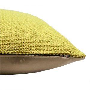Fat Bo Bushion Hook & Eye 60x60 cm Yellow - Summer Cushions - Fresh up your home - on Lifetime-pieces.com