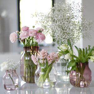 kähler hay glass vases spring flowers blog post on lifetime-pieces.com