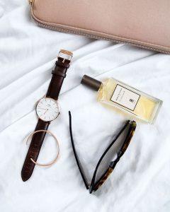 Daniel Wellington classic watch sunglasses cuff clutch bedding Blog post on Lifetime-pieces.com