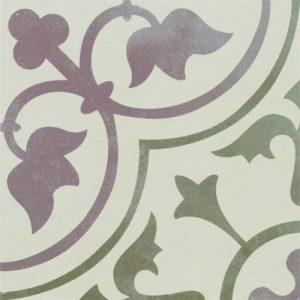 Fliesenmax Vintage Look Retro Style Ornament Tile Floral Tiles on Lifetime-pieces.com