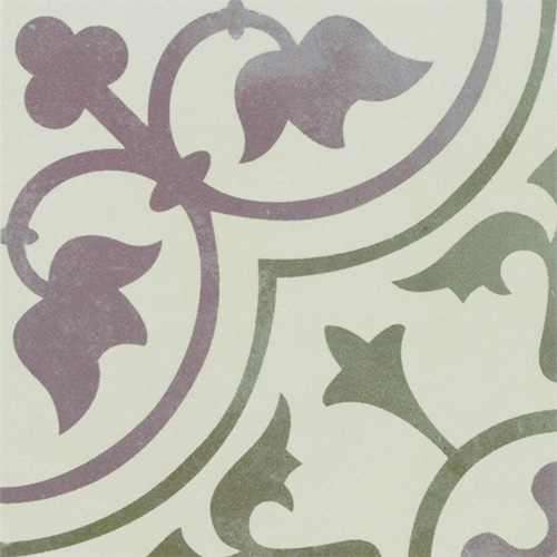 Fliesenmax Vintage Look Retro Style Ornament Tile Floral Tiles on Lifetime-pieces.com