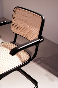 Freischwinger S64 Chair exhibitor Thonet, imm cologne fair 2018, blog post lifetime-pieces.com