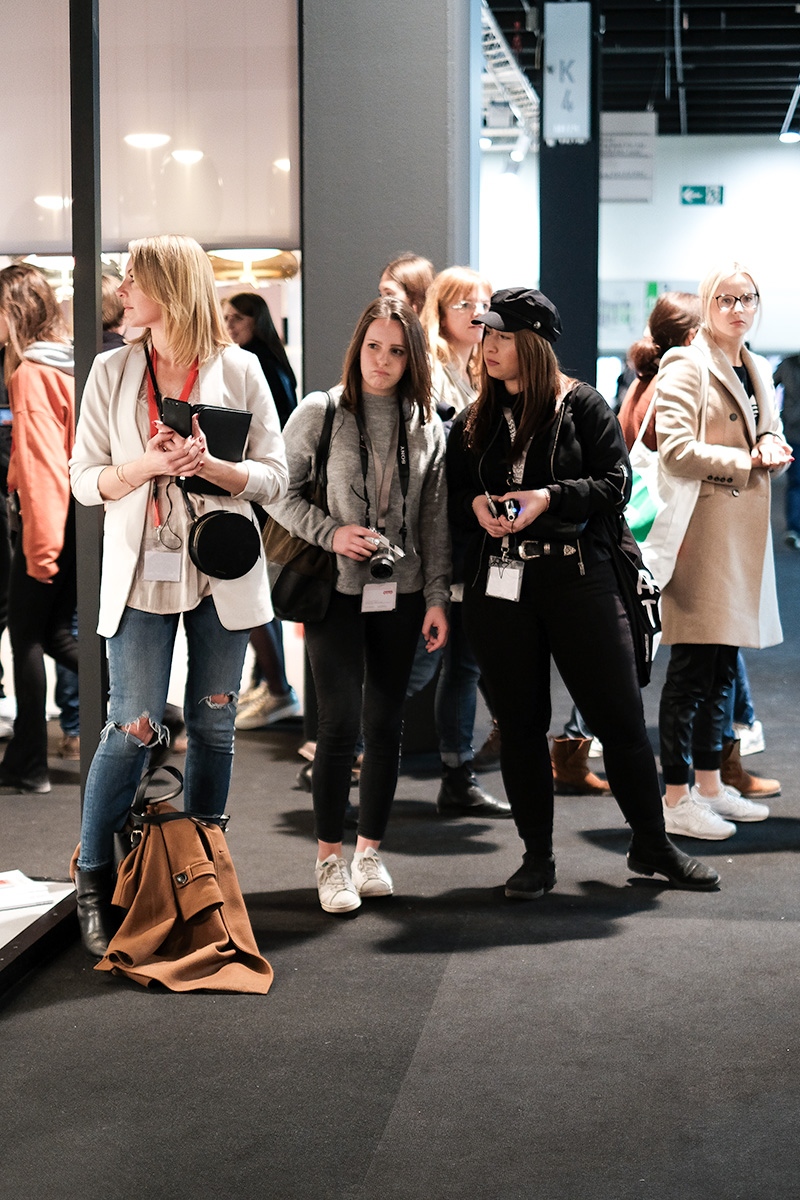 Bloggers at trend fair tour imm cologne fair 2018, blog post lifetime-pieces.com