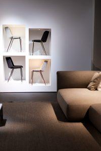 Chairs, sofa, beige, imm cologne fair 2018, blog post lifetime-pieces.com