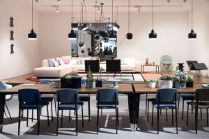 Stand exhibitor Vitra at imm cologne fair 2018, blog post lifetime-pieces.com
