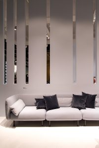 Sofa Elle, stand exhibitor Softline at imm cologne fair 2018, blog post lifetime-pieces.com