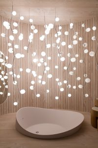 Bathtub, lights, Das Haus, imm cologne trade fair 2018, blog post lifetime-pieces.com
