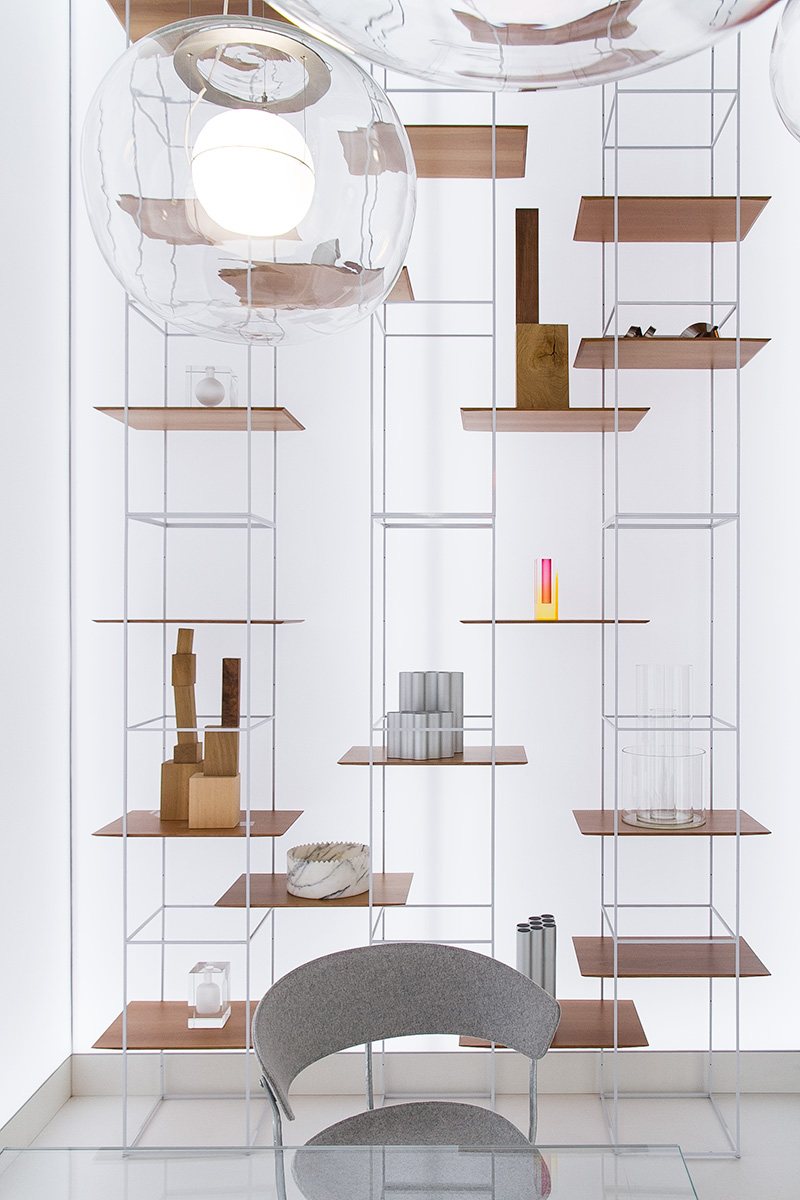 pendant lamps, shelves, das Haus, imm cologne fair 2018, blog post lifetime-pieces.com