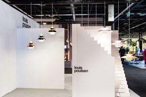 Pendant lights, exhibitor Louis Poulsen, imm cologne fair 2018, blog post on lifetime-pieces.com