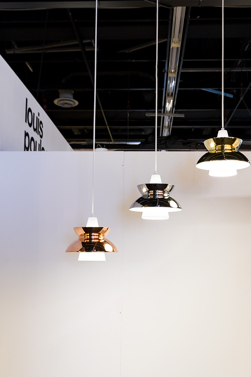 DOO-WOP Pendant lights, exhibitor Louis Poulsen, imm cologne fair 2018, blog post on lifetime-pieces.com