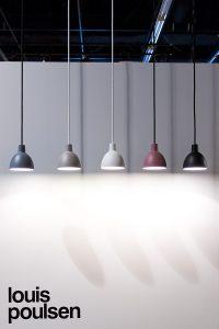 Pendant lights, Exhibitor Louis Poulsen stand, imm cologne trade fair 2018, blog post lifetime-pieces.com