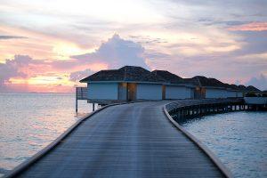 Kandima, Maldive islands, water villas, sea, sunset, blog post about Maldives on lifetime-pieces.com