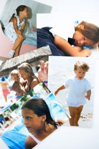 Childhood pictures, Girl, Mother's Day Blog post on Lifetime-pieces.com
