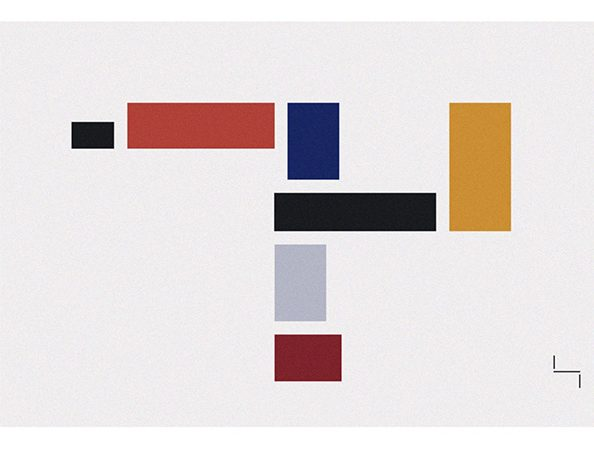 Homage to the Bauhaus Teppich von Frank Kirschbaum, Markanto Designklassiker