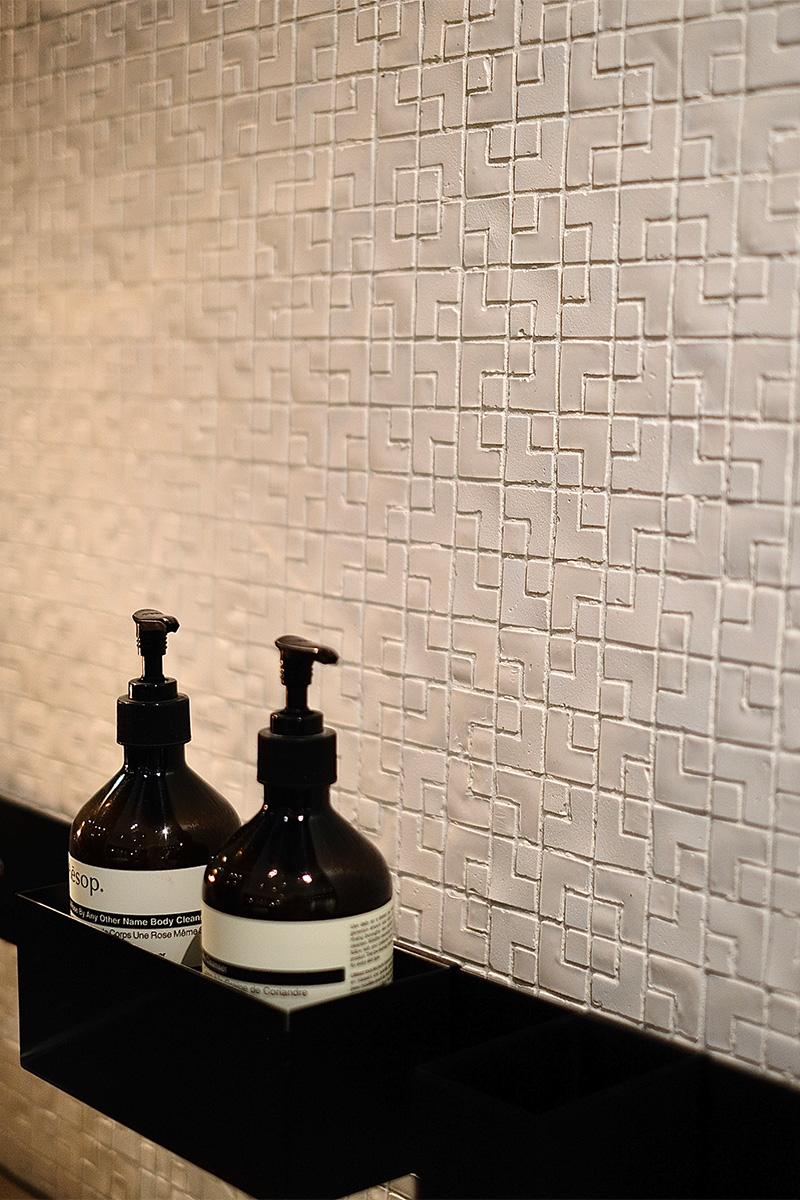 Badezimmer, Mosaikfliesen, weiß, Fliesen, Trend, Blogbeitrag auf lifetimepieces.com